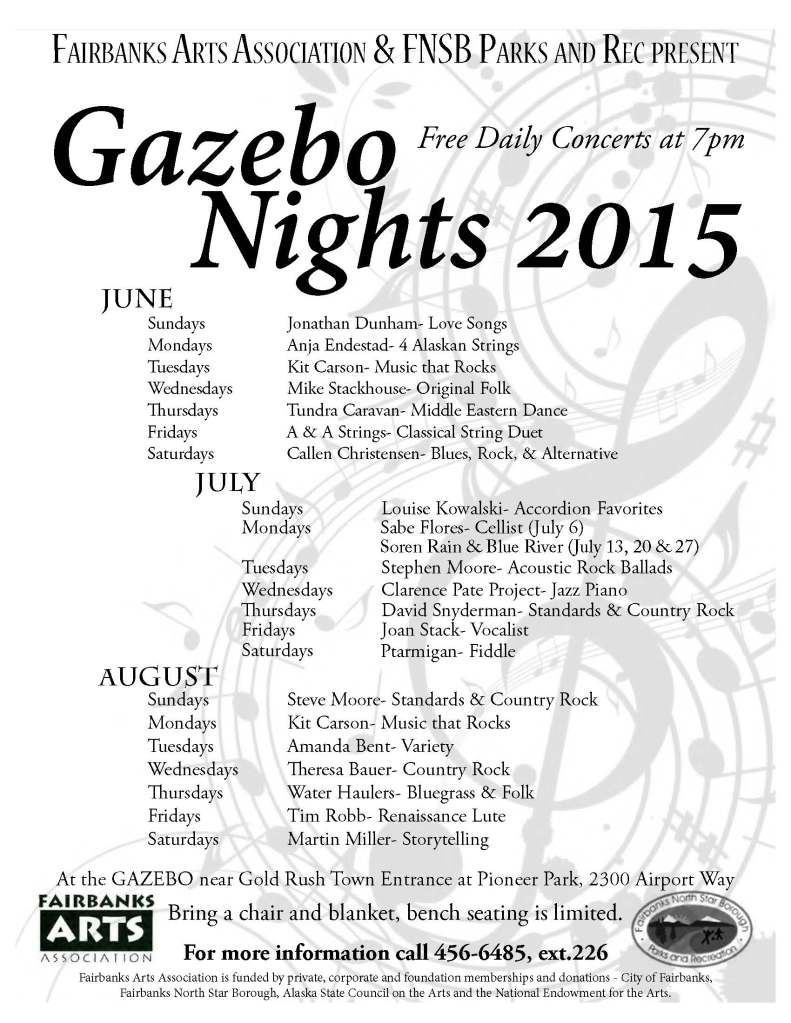 Gazebo Nights 2015