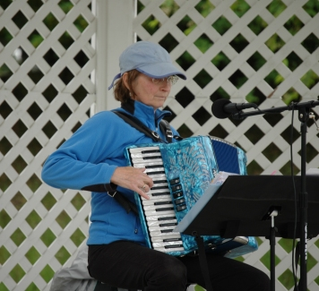 Gazebo Nights performer Louise Kowalski