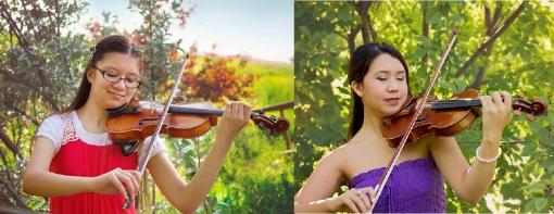 Rachael and Clara Teller_violin