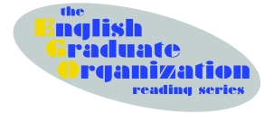 UAF English Graduate Organization reading series logo