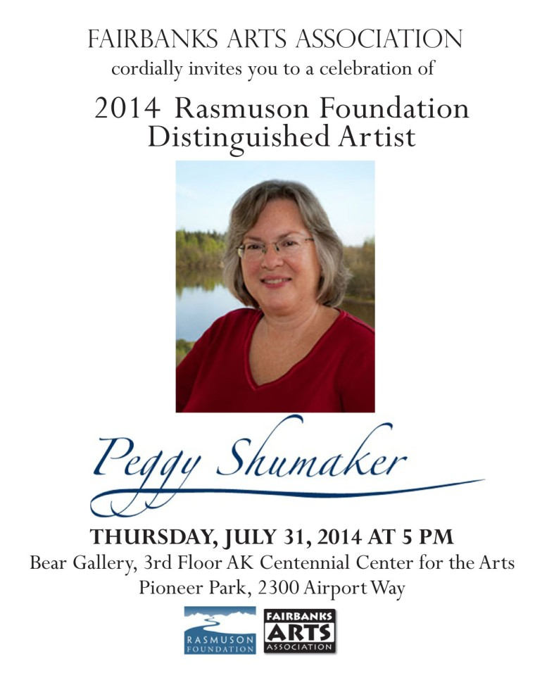 Peggy Shumaker Rasmuson single