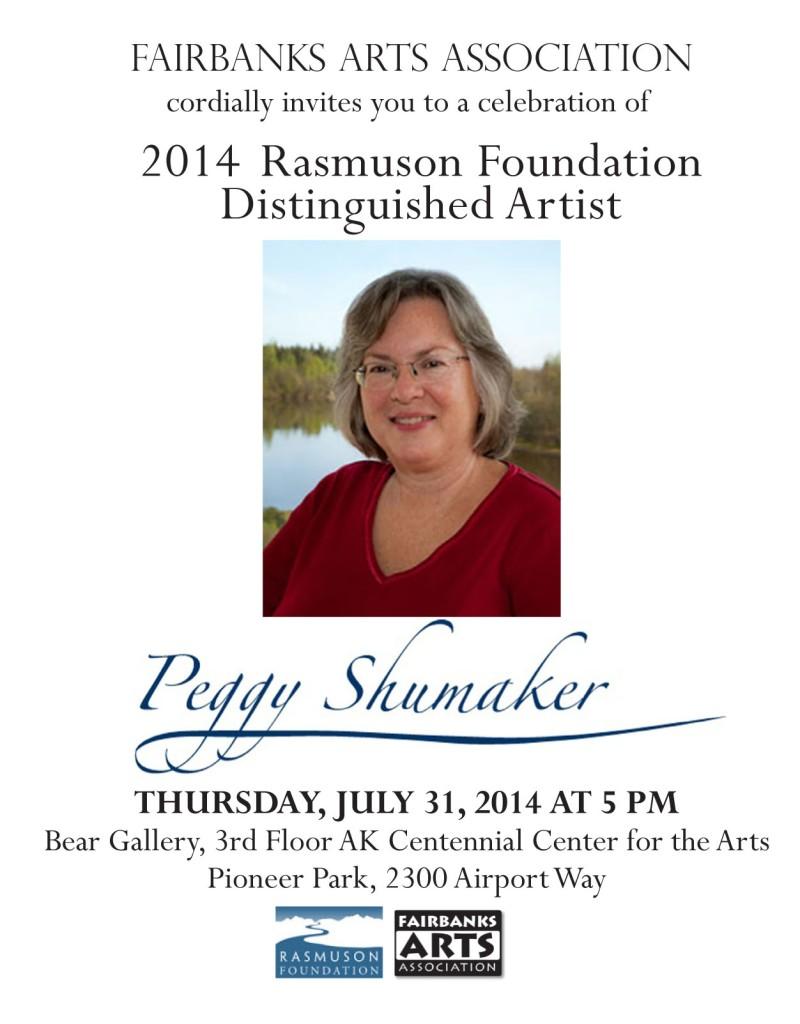 Peggy Shumaker Rasmuson single
