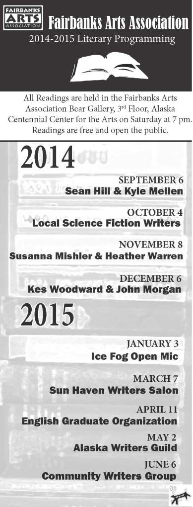 Literary Reading Schedule 2014-2015
