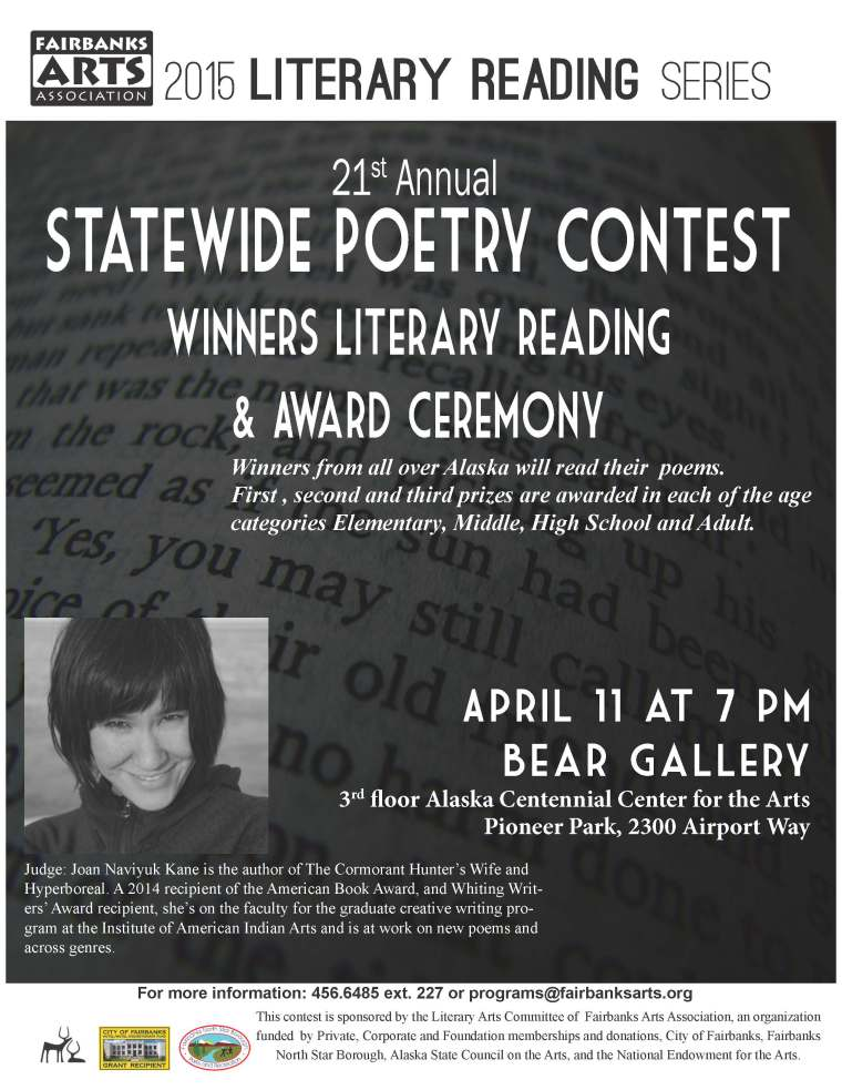 Statewide Poetry Reading Flier