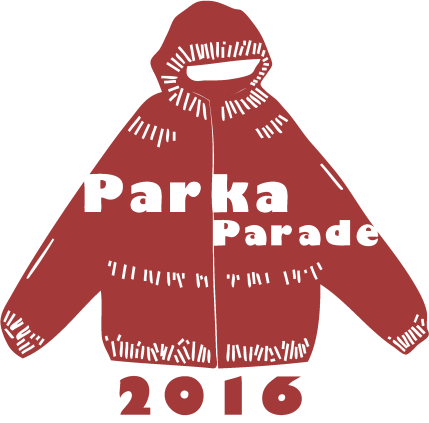 parka parade red