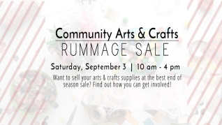 New Community Arts & Crafts Rummage Sale