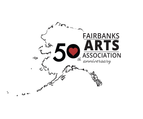 Fairbanks Arts 50th Anniversary Logo