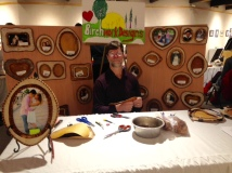 David Bowen at FAA's new Mini-Bazaars during the month of November in Bear Gallery