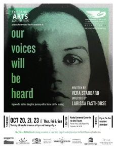 Our Voices Will Be Heard by Vera Starbard was hosted by FAA during the 50th AFN Convention
