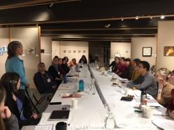 Creative Capital workshop in May, 2018