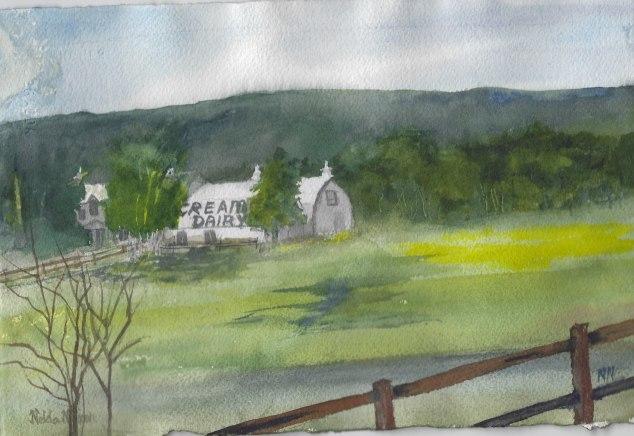 Creamer's Field & Barn, Summer