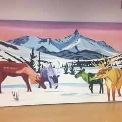 Final mural at YESS Program