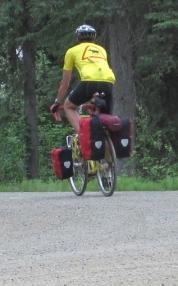 Frank on Bike