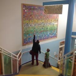 Final mural at Barnette