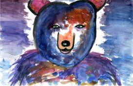 Green Eyed Bear by Arianna Coghill, Gr. 6
